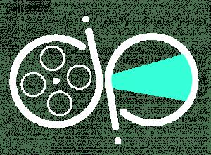digital production logo white square icon - Video - audio - graphics - web 524x386